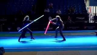 Star Wars duel on Fencing World Championships. BEST SOUND