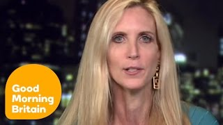 Piers Morgan & Ann Coulter Clash Over Banning Muslims From The United States   Good Morning Britain