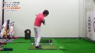 《ゴルフ》ドローボールの打ち方2