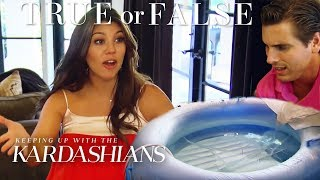 Did Kourtney Kardashian Have A Water Birth? | So True / So False | KUWTK | E!