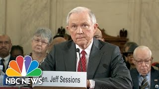 Jeff Sessions Says He Will Recuse Himself From Any Hillary Clinton Investigations | NBC News