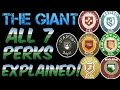 Black Ops 3 : The Giant - ALL 7 PERKS Ex...mp3