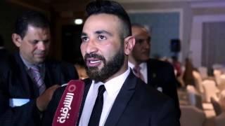 تصريح صادم لـ احمد سعد بعد انفصاله عن ريم البارودي وزواجه من سمية الخشاب