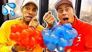 Ultimative Wasserbomben Challenge!!! 💦🎈 mit Simon