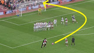 Top 10 Outstanding Curved Free Kicks