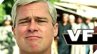 WAR MACHINE Bande Annonce VF (Brad Pitt - 2017) Netflix