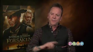 Kiefer Sutherland Gets Emotional When Talking About Dad
