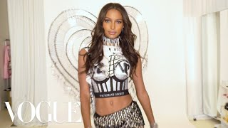 Victoria's Secret Angel Jasmine Tookes Reveals Her Punky Balmain Wings | Vogue