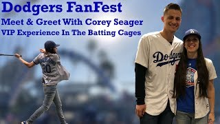 Dodgers FanFest - Meet & Greet With Corey Seager and VIP Experience In The Batting Cages