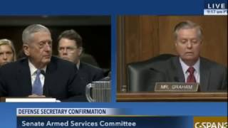 James Mattis and Lindsey Graham on Israel, North Korea, Russia and Iran.