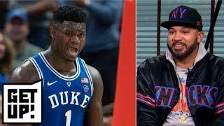 Desus & Mero hype Zion Williamson to Knicks and debate Jeter vs. Judge   Get Up!
