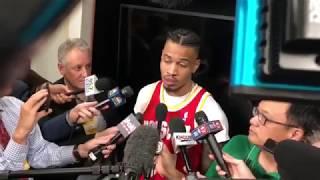 Gerald Green postgame interview / Rockets vs Warriors Game 6