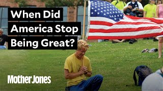 "We asked Trump voters: ""When did America stop being great?"""