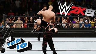 Awesome Royal Rumble Finishers - WWE 2K15 Top 10