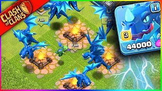 """THE NEW """"ELECTRO DRAGON"""" x9!!! Clash of Clans UPDATE HYPE"""