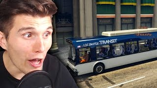 FERNBUS SIMULATOR CHAOS IN GTA 5 mit DEM FREEDOM SQUAD!