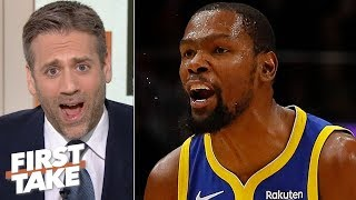 Max Kellerman doubts if Kevin Durant will ever be the same after Achilles injury   First Take