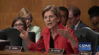 "Sen. Warren to Wells Fargo CEO: ""You should be fired."" (C-SPAN)"