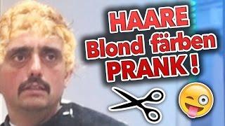 HAARE BLOND FÄRBEN !!! PRANK (mit AUSRASTER)