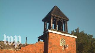 Their churches were burned, but their faith is unshaken