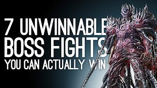 7 Unwinnable Boss Fights You Can Beat If You