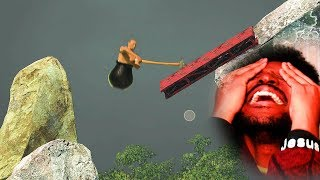 WHY WOULD SOMEONE MAKE THIS GAME!?   Getting Over It (Part 1)