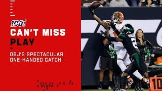 OBJ Repeats 2014 One-Handed Catch From Iconic Spot!