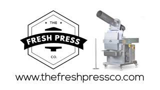 The Fresh Press Co FP100 Cold Press Juicer Video