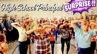 High School Principal Surprises her Students