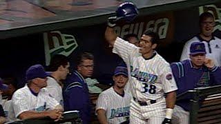 Alex Cabrera homers in his first MLB at-bat
