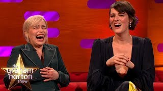 Emilia Clarke LOSES IT At Phoebe Waller-Bridge's Ridiculous Story | Graham Norton
