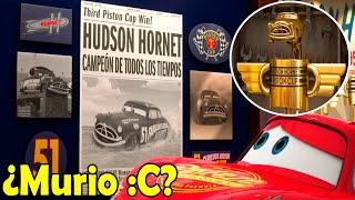 Que Paso con Doc Hudson Hornet y Como Murio en Cars?