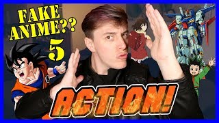 Real or FAKE ANIME?? Pt. 5 - ACTION/ADVENTURE EDITION! | Thomas Sanders