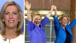 Laura Ingraham points out Clinton, Warren hypocrisy
