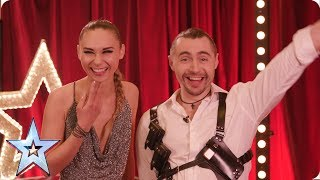 What noise does a badger make? | Quickfire Questions | BGT 2019