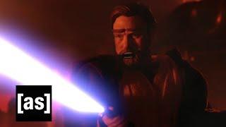 Obi Wan Takes The High Ground | Robot Chicken | Adult Swim