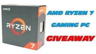 AMD RYZEN 7 1700X Giveaway - PC System Aufbau (Die Fertigstellung)
