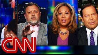 Panel erupts over conversation of race, Trump