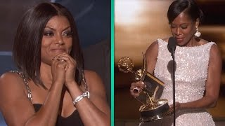 Taraji P. Henson Freaks Out Over Regina King