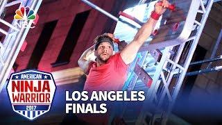 Adam Rayl at the Los Angeles Finals - American Ninja Warrior 2017