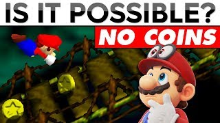 Can You Beat Super Mario 64 Without Collecting ANY Coins   Is It Possible?