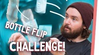 Bottle Flip Challenge | Guten Morgen, Internet Studio krass geschrottet!