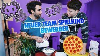 Unsere eigene YouTuber Pizza!
