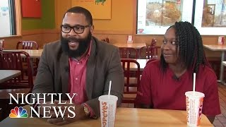 Inspiring America: Customer Offers To Pay For Worker's Education | NBC Nightly News
