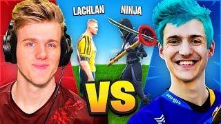 Lachlan VS Ninja In Fortnite Battle Royale!