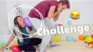 PLATZ DEN BALLON - Challenge 😂 | BibisBeautyPalace