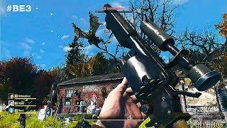 FALLOUT 76 Gameplay Demo (E3 2018)