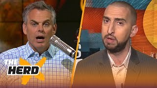 Nick Wright on why Boston makes sense for LeBron, yet Lakers still have a chance | NBA | THE HERD