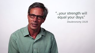 The Strength You Need - a Word from Robert Morgan