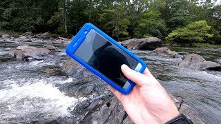 The Rainy River Hunt! - Found Phones, Rings and Knives! | Nugget Noggin